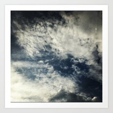 Up in the sky. Art Print