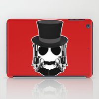 Gun Face iPad Case