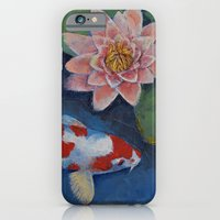 Koi And Water Lily iPhone 6 Slim Case