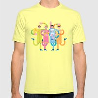 Sgt. Peppers Reloaded Mens Fitted Tee Lemon SMALL