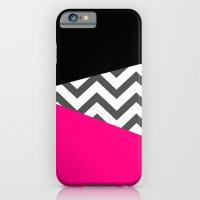 Color Blocked Chevron 8 iPhone 6 Slim Case