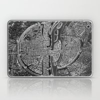 Vintage Paris Negative Laptop & iPad Skin