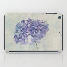 Beautiful Blue Hydrangea iPad Case
