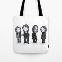 The Plush Four Tote Bag