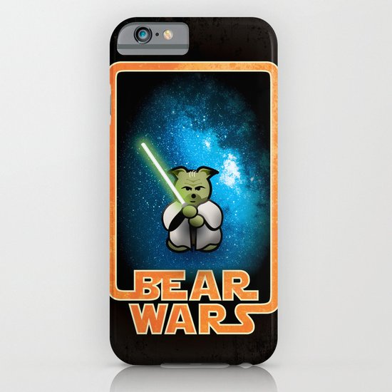Bear Wars - the Wise One iPhone & iPod Case