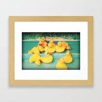 Cuac-cuac Framed Art Print