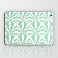Mint Starburst #3 Laptop & iPad Skin