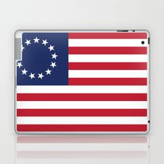 Betsy Ross flag - Authentic color and scale Laptop & iPad Skin