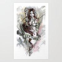 JAYBIRD art & design Art Print