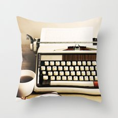 Tell Me A Story III Throw Pillow