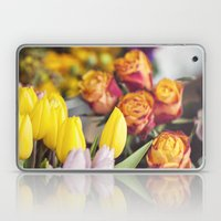 Market Tulips Laptop & iPad Skin