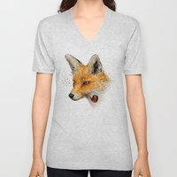 Fox VI Unisex V-Neck