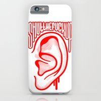 iPhone & iPod Case featuring Shutthefuckup by John Duvengar