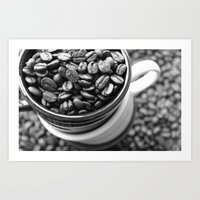 Bean Me Up, Buttercup Art Print