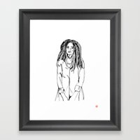 First Hello No.2 Framed Art Print