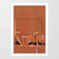 TIME OUT 39 Art Print