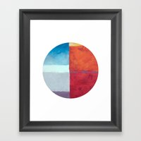 Skyline Occulus  Framed Art Print