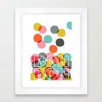 Bon Bon Framed Art Print