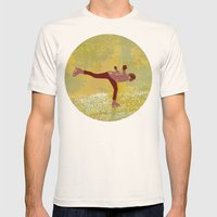Dreamers fly Mens Fitted Tee Natural SMALL