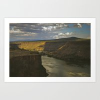 Central Canyon Art Print