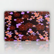 Laptop & iPad Skin featuring Decorative Floral Design by Annie Zeno
