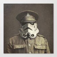 Sgt. Stormley (square format)  Canvas Print