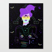 Frida Boreal Canvas Print