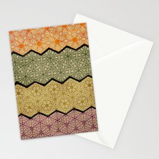 Pattern, Zig, Pattern, Zag, Repeat Stationery Cards