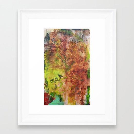 earth #4 Framed Art Print
