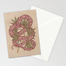 The snake Stationery Cards