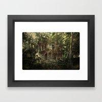 Bramble House Framed Art Print