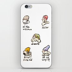 Beanies iPhone & iPod Skin