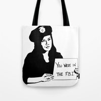 It's been a pleasure serving with you, son. Tote Bag