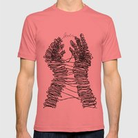 Alone In Kyoto Mens Fitted Tee Pomegranate SMALL