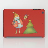 Friends keep warm - red iPad Case