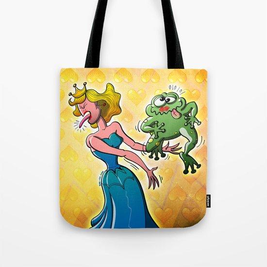 Disgusting Kiss for a Princess Tote Bag