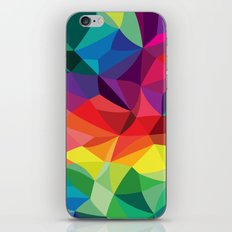 Color Shards iPhone & iPod Skin