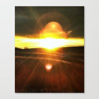 Heliosphere Rising Canvas Print