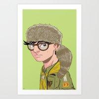 Sam Shakusky Art Print