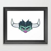 El Demon Framed Art Print