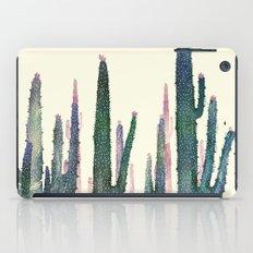 cactus water color cut iPad Case
