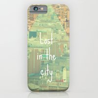 Lost in the city iPhone 6 Slim Case
