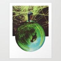 overleaf Art Print