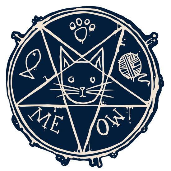 Penta Cat Art Print