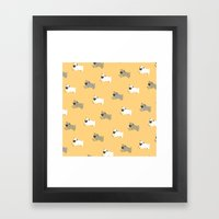 All You Need Is PUG Framed Art Print