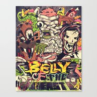Belly Of The Beast Canvas Print