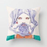 An Allusion  Throw Pillow