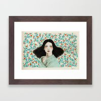 Eufemia Framed Art Print