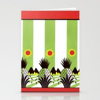 Pineapple Fields Forever Stationery Cards