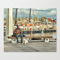 Best Friends & Music Canvas Print